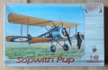 Sopwith Pup, scale 1:48, Eduard flying circus 8011, model plastikowy.jpg