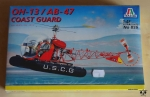 OH-13 / AB-47 Coast Guard, 1:48 Scale, Italeri No 859, model plastikowy