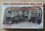German Communications Center w/Signal Troops, 1:35 Quartermaster Series, Dragon 3826, model plastikowy
