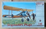 Sopwith Pup, scale 1:48, Eduard flying circus 8011, model plastikowy