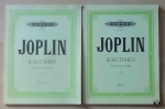 Scott Joplin, Ragtimes For Piano, volume I & II, edited by Eberhardt Klemm, nuty