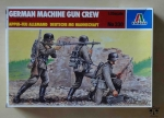 German Machine Gun Crew, 1:35 scale, Italeri No 330, model plastikowy