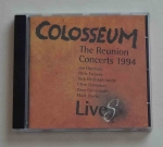 Colosseum. The Reunion Concerts 1994. Lives, płyta CD