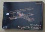 Sopwith Camel, Strip down 1/72, Eduard 7006