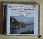 Padre Jose Antonio Donostia. Piano Music, Basque Preludes, Nostalgia, płyta CD