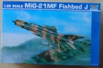 MiG-21MF Fishbed J, Trumpeter 02218, 1:32 scale