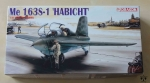 Me 163S-1 Habicht, 1:48 Master Series, Dragon 5526, model plastikowy