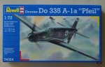 "Dornier Do 335 A-1a ""Pfeil"", 1:72, Revell 04324, model plastikowy"