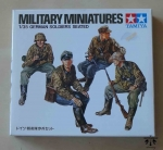 German Soldiers Seated  1/35 Military Miniatures, Tamiya 35109 250