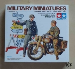 German Motorcycle Orderly Set, 1/35, Tamiya 35241, model plastikowy