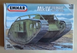 "MkIV ""Female"", WW1 Tank, 1:72 Scale, EMHAR EM 5002, model plastikowy"