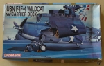 USN F4F-4 Wildcat w/Carrier Deck, 1:72 Golden Wings Series, Dragon 5024