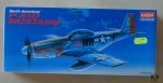 North American P-51D Mustang, 1/72 scale, model plastikowy, Academy