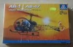 AH-1 / AB-47 Light Helicopter, 1:72 scale, Italeri  No 095, model plastikowy