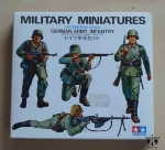 German Army Infantry, 1/35 Scale, Tamiya 35002, model plastikowy