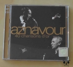 Aznavour, 40 chansons d'or, 2 płyty CD