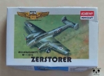 Messerschmitt Bf-110 G Zerstorer, 1/144th Scale, Academy Minicraft 4411, model plastikowy