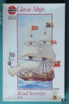 Royal Sovereign 1637, 1:168, Classic Ships Special Edition, Airfix 09251, plastikowy model żaglowca