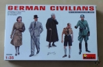 German Civilians, VW II Military Miniatures Series, 1:35, MiniArt 35086, model plastikowy