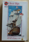 HMS Victory 1765, 1:180, Classic Ships Special Edition, Airfix 09252, model plastikowy żaglowca