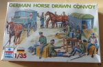 German Horse Drawn Convoy, 1/35, ESCI ERTL 5047, model plastikowy