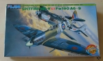 Spitfire Mk-V vs Fw190 A6-9, 1/48 scale, Fujimi 35510, Dog Fight Series 2, dwa modele plastikowe