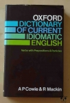 Oxford Dictionary of Current Idiomatic English, Verbs with Prepositions & Particles