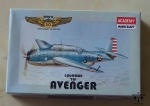 Grumman TBF Avenger, 1/144 Scale, WW II 50 Anniversary Collection, Academy Minicraft 4414, model plastikowy