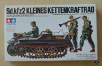 Sd.kfz2 Kleines Kettenkraftrad, 1/35 Military Miniature Series No. 29, Tamiya 35029, model plastikowy