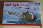 Helikopter OH-13S Sioux, 1:48 Scale, Italeri No 857, model plastikowy