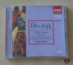 Antonin Dvorak, Slavonic Dances Opp. 46 & 72, płyta CD
