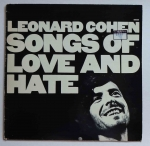 Leonard Cohen, Songs Of Love And Hate, płyta winylowa