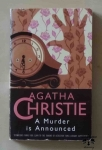 Agatha Christie, A Murder is Announced