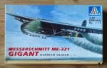 Messerschmitt Me-321 Gigant German Glider, 1:72 Scale, Italeri No 115, model plastikowy