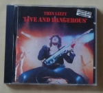 Thin Lizzy, Live and Dangerous, płyta CD