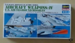 Aircraft Weapons: IV U.S. Air To Ground Missiles, Hasegawa X72-4, 1/72 Scale, Aircraft in Action Series, model plastikowy