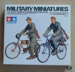 German Soldiers With Bicycles, 1/35 scale, Tamiya 35240, model plastikowy