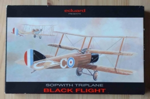 Sopwith Triplane Black Flight, 1/48 scale, Eduard 8020, model plastikowy