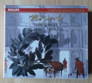 Mozart, Piano Quintet, Quartets, Trios etc., 5 płyt CD