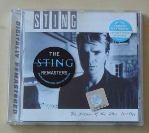 "Sting, The Dream Of The Blue Turtles, includes CD-ROM Video track featuring ""If You Love Somebody..."", płyta CD"