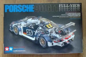 Porsche 911 GT1 Full-View, 1/24, Tamiya 24208 2000, model plastikowy