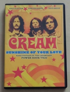 Cream, Sunshine of Your Love, płyta DVD