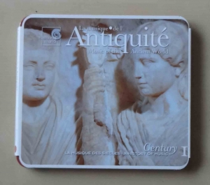 La musique de l'Antiquite. Music of the Ancient World. Płyta CD