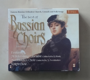 The Best of Russian Choirs. 3 płyty CD