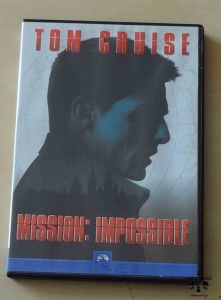 Mission: impossible, film DVD