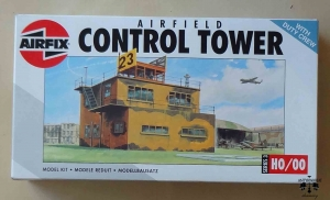 Airfield Control Tower, H0/00, Airfix 03380, model plastikowy