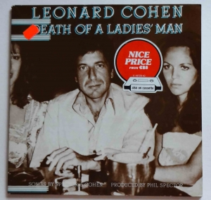 Leonard Cohen, Death Of A Ladies' Man, płyta winylowa