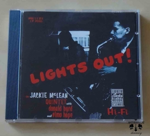 Lights Out, The Jackie McLean Quintet with Donald Byrd and Elmo Hope, płyta CD