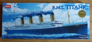 R.M.S. Titanic, 1/400th Scale, Academy 1458, model plastikowy