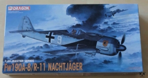 Fw190A-8/R-11 Nachtjager, 1:48 Master Series, Dragon 5514, model plastikowy